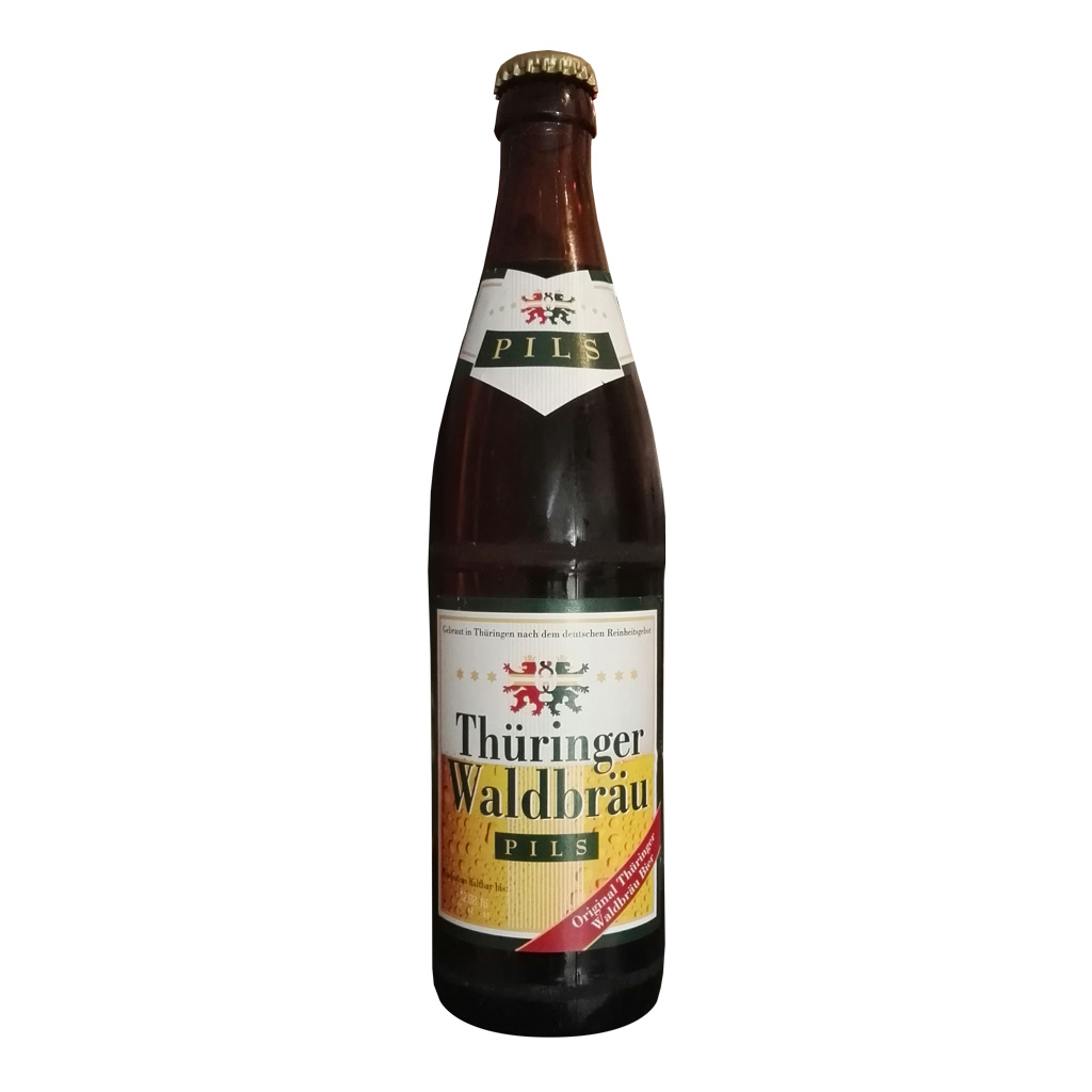 Bewerte jetzt das Thüringer Waldbräu Pils Bier auf gebierge.de